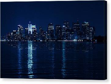 Manhattan Canvas Print by Mark Ashkenazi