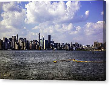 Manhattan On My Mind Canvas Print by Madeline Ellis