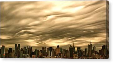 Manhattan Sky Canvas Print