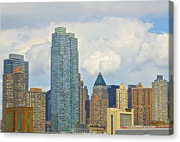 Manhattan Skyline II Canvas Print by Galexa Ch