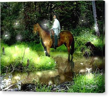Manisay Creek  Canvas Print by Tom Straub