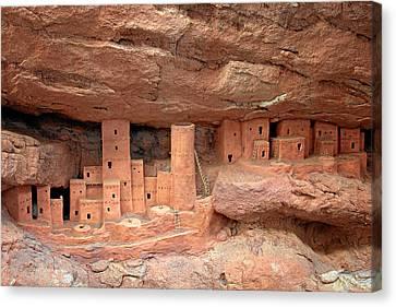 Manitou Cliff Dwellings Canvas Print