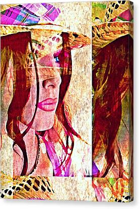 Mannequin 8 Canvas Print by Maria Huntley