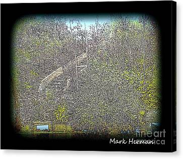 Manners Park Stairway Canvas Print