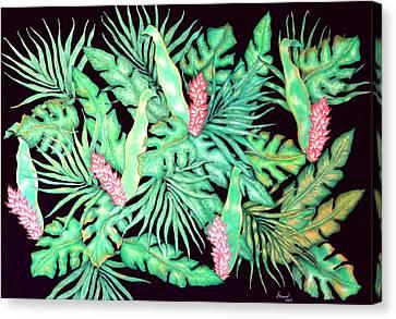 Manoa Canvas Print by Thomas Gronowski