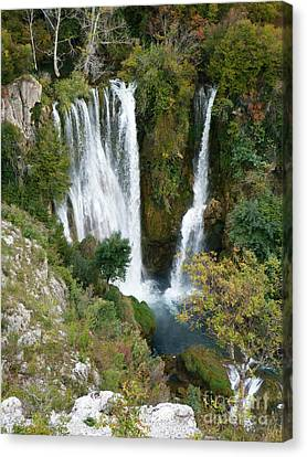 Manojlovacki Slap - Krka National Park - Croatia Canvas Print