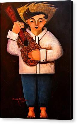 Manolito El Cuatrista 1942 Canvas Print