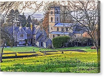 Manor House Canvas Print