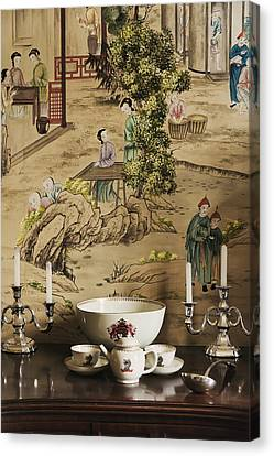 Manor Interior Canvas Print by Svetlana Sewell