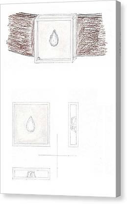 Man's Solitaire 2 Canvas Print