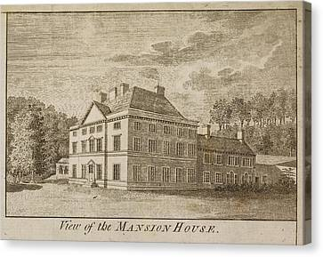 Mansion House Of Close House Estate Canvas Print by British Library