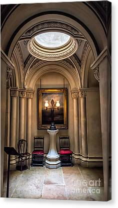 Mansion Lamps Canvas Print by Adrian Evans