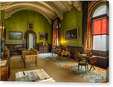Mansion Lounge Canvas Print by Adrian Evans