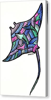 Manta Ray 2009 Canvas Print