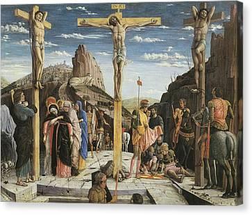 Mantegna, Andrea 1431-1506. Calvary Canvas Print by Everett