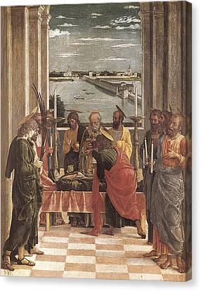 Mantegna, Andrea 1431-1506. Death Canvas Print by Everett