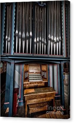 Manual Pipe Organ Canvas Print