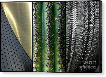 Manufactured Ouch Canvas Print by Marlene Burns