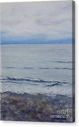 Canadian Grand Prix Canvas Print - Manx Mist by Stanza Widen
