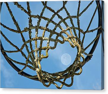 Many Baskets Made Many Moons Ago Canvas Print by Lena Wilhite