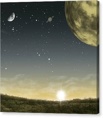 Many Moons Ago Canvas Print by Brian Wallace