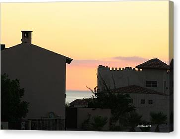 Canvas Print featuring the photograph Mar De Cortez Morning by Dick Botkin