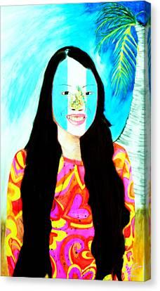 Mara Canvas Print by Ayasha Loya
