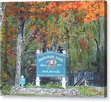 Marathon Park Canvas Print