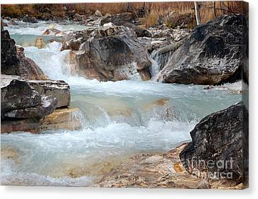 Marble Canyon Canvas Print by Bob and Nancy Kendrick