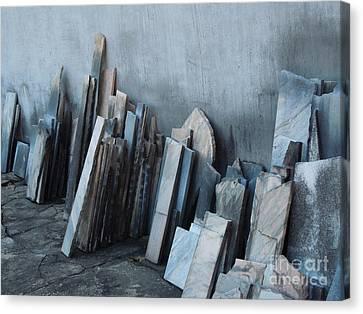 Marble Graveyard Canvas Print