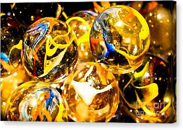 Toy Shop Canvas Print - Marble Mania  by Colleen Kammerer