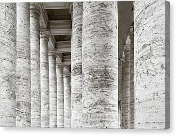 Marble Roman Columns Canvas Print