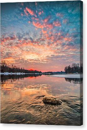Marble Sky II Canvas Print by Davorin Mance