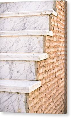 Marble Steps Canvas Print by Tom Gowanlock