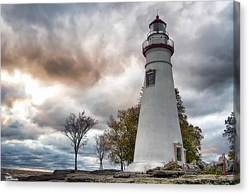 Marblehead Lighthouse Canvas Print by Mary Timman
