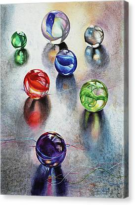 Marbles 1 Canvas Print