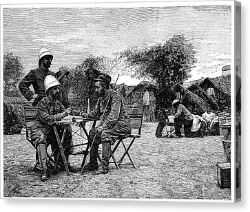 Diplomacy Canvas Print - Marchand Expedition Across Africa by Science Photo Library