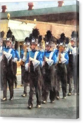 Marching Band Canvas Print by Susan Savad