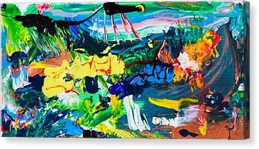 Marcian Annex Landscape  Canvas Print