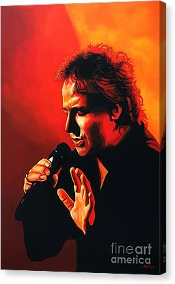 Marco Borsato Canvas Print by Paul Meijering