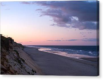 Marconi Beach At Dusk Canvas Print by Brian Caldwell
