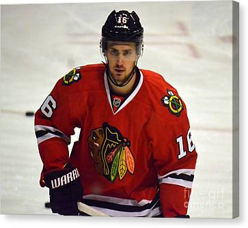 Canvas Print featuring the photograph Marcus Kruger by Melissa Goodrich