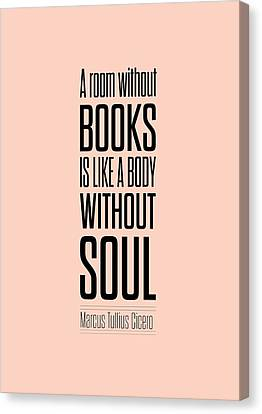 Marcus Tullius Inspirational Quotes Poster Canvas Print by Lab No 4 - The Quotography Department