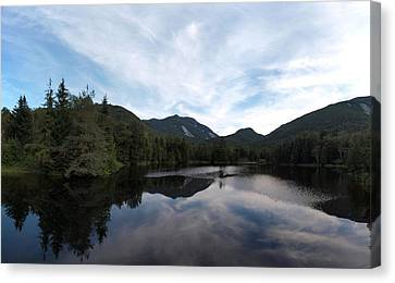 Marcy Dam Pond Canvas Print by Joshua House