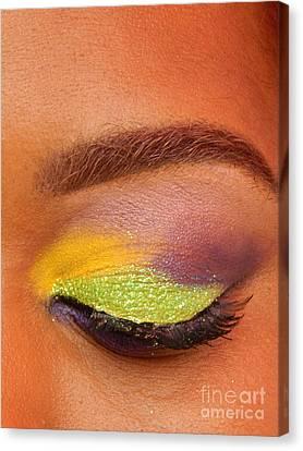 Mardi Gras 2014 Eye See Colors Of Mardi Gras Canvas Print