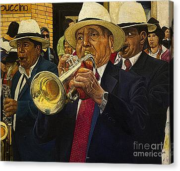 Mardi Gras Canvas Print by Al Bourassa