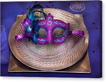 Personalized Canvas Print - Mardi Gras Theme - Surprise Guest by Mike Savad