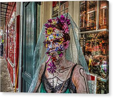 Santeria Canvas Print - Mardi Gras Voodoo In New Orleans 2 by Louis Maistros