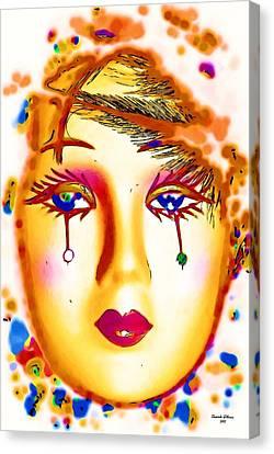 Mardis Gras Laissez Les Bons Temps Rouler Canvas Print by Mander Jack