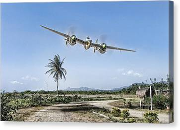 Mareeba Flyover Canvas Print by Peter Chilelli
